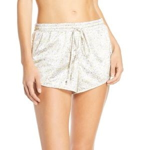 New Jason Wu Floral Lounge Tap Shorts